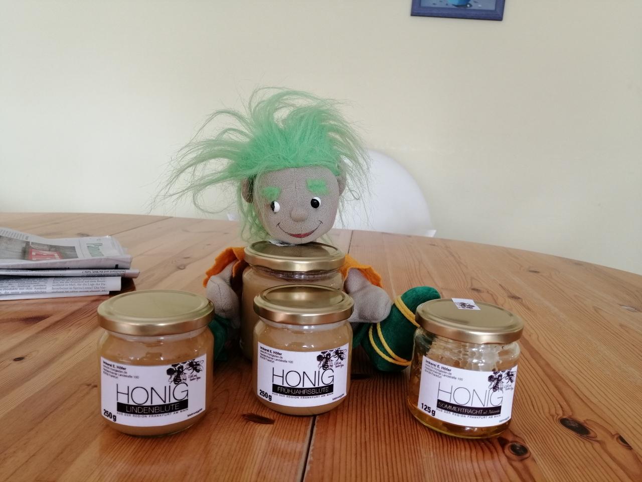 Honig vom Imker Höfer für einen guten Zweck